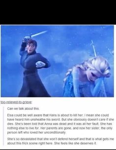 Most popular tags for this image include: frozen, elsa, hans, disney and sad