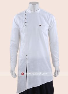 Cotton Silk Fabric Kurta For Mens Gents Kurta Design, Boys Kurta Design, Kurta Pajama Men, Kurta Men, Wedding Dresses Men Indian, Wedding Dress Men, Indian Men Fashion, Mens Fashion Wear, Men's Fashion