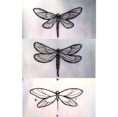Libelulas 🐝🐛 – Tattoo For Women Moth Tattoo Design, Dragonfly Tattoo Design, Dragonfly Art, Tattoo Designs, Trendy Tattoos, New Tattoos, Small Tattoos, Tattoos For Guys, Tattoos For Women