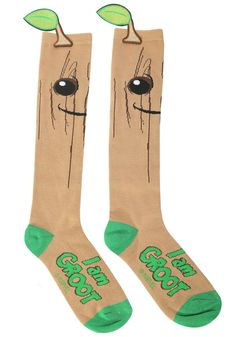 Collectables - Guardians Of The Galaxy Groot Knee High Socks