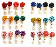 #BuyFromLink --> http://fkrt.it/0sGjfNNNNN #Earring #Indianfashion #Gorgeous #look #style  #Shop #Buy #online #india The color and the ceramic material gives rich look to the ear rings.For office use These Ear Rings are the perfect.