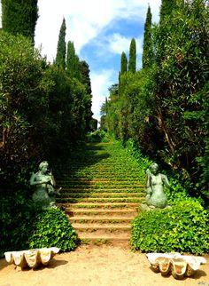 Lloret de mar spain botanic garden Santa Clotilde Gardens