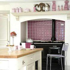 ~Pink/Mauve Kitchen agahuis.nl  een liefhebber van rosé