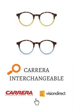 52ba6c34ea Carrera glasses now are interchangeable!!! Find all the colours avilable on  our website