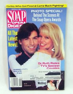 Soap Opera Digest Available in my eBay store! #soaps #soapoperadigest on ebay www.grammysbargains.com