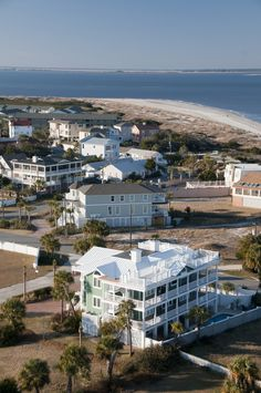"Just down the way from gorgeous Savannah is its ""official"" beach: Tybee Island. This barrier island has picturesque southern architecture, but is also known for its seasonal population of loggerhead turtles. Book a room in this haunted Georgian B&B Beach Images, Beach Pictures, Camping Spots, Camping Tips, Outdoor Camping, Driftwood Beach, Visit Florida, Romantic Homes, Beach Town"