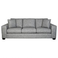 Add interest to your sofa, bed or favourite chair with accent pillows from Urban Barn. Modern Leather Sofa, Modern Sofa, Urban Barn, Sofa Shop, Home Living Room, Love Seat, Family Room, Sweet Home, New Homes