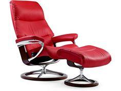 De @Stressless Crown #fauteuil heeft een traditionele