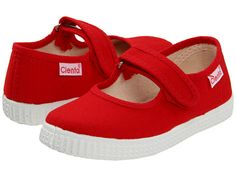 Cienta Kids Shoes 5600002 (Infant/Toddler/Little Kid/Big Kid) Red - Zappos.com Free Shipping BOTH Ways $36