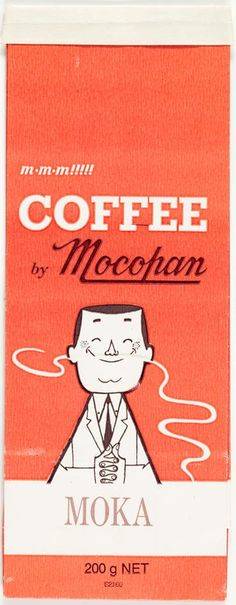 coffee by mocopan - vintage packaging