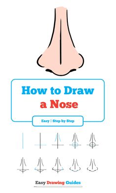 nose draw easy drawing really step drawings beginners techniques steps basic learn