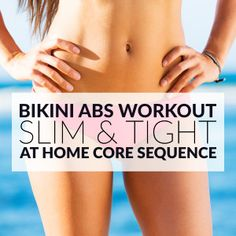 At Home Bikini Abs Workout