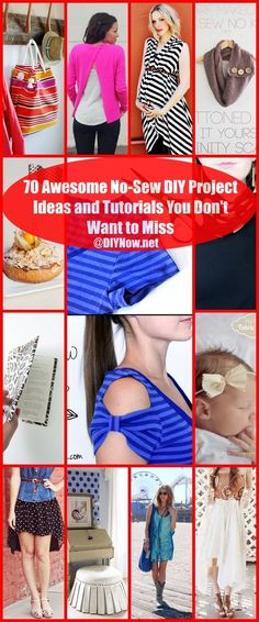 70 Awesome No-Sew DIY Project Ideas and Tutorials You Don't Want to Miss
