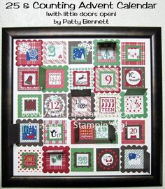 Stampin Up! 25 & Counting advent calendar