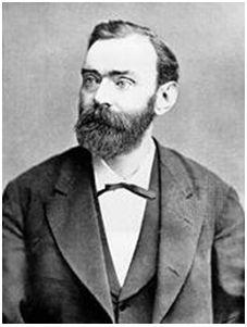 Alfred Nobel. Fundador de los premios Nobel