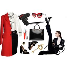 Fall office wardrobe look for women over 40 (17)