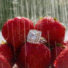 Summer sparkle & strawberry rain.