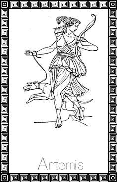 poseidon greek gods coloring pages-#23