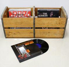 50 Best Lp Record Storage Crates Images Record Storage