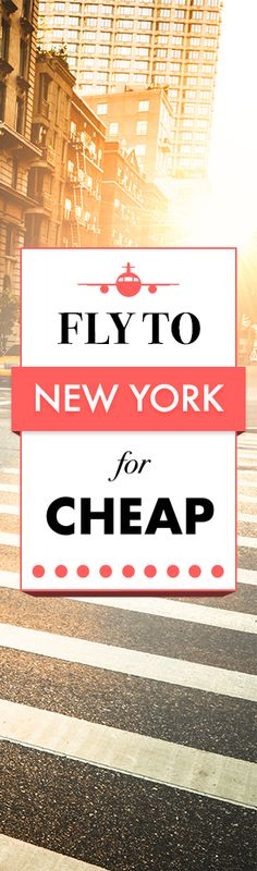 You Can Actually Find the Cheapest Flights Ever to New York. Airfarewatchdog helps you save money when you book your next flight - so you always get the best deal.