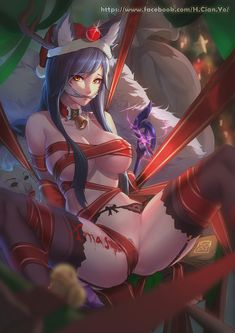 ecchi,anime erotic and sexy anime girls, schoolgirls with tits,anime,Ahri,league of legends,lol,games
