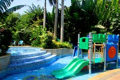 Let Your Kids Have Fun in a Kid-friendly Hotel! (Part Kid's swimming pool at Crown Plaza Resort Sanya Bay China Vacation, China Trip, China Travel, Travel Around The World, Around The Worlds, Learning To Relax, Sanya, Beach Day, Cool Places To Visit