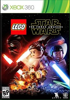 awesome LEGO Star Wars: The Force Awakens - Xbox 360 Standard Edition  The No. 1 LEGO videogame franchise triumphantly returns with a fun-filled, humorous journey based on the blockbuster Star Wars film. In LEGO Star Wars... http://gameclone.com.au/games/lego-star-wars-the-force-awakens-xbox-360-standard-edition/ Check more at http://gameclone.com.au/games/lego-star-wars-the-force-awakens-xbox-360-standard-edition/
