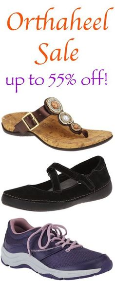 Vionic with Orthaheel Shoes and Sandals Sale!  {these seriously have the BEST support!}