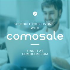 Schedule your #eBay listings with #comosale. No quantity limitations, no additional fees applied. Try it out and send us your feedback! http://comocom.com/