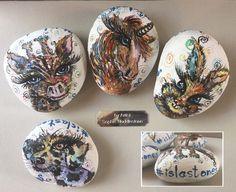 Islastones get painting stones and hiding them, raise childhood cancer awareness.