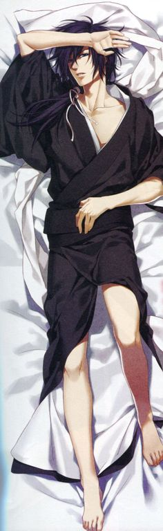I will have this body pillow of Hajime some day *O*
