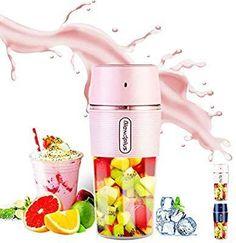 """Fruit blender"" portable fruit blenders Fruit Blender, Mini Blender, Fruit Juicer, Portable Blender, Smoothie Blender, Best Smoothie Recipes, Yummy Smoothies, Travel Blender, Smoothie Makers"