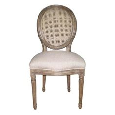 Tall Scalloped French Country Ladderback Furniture By Hunt - Country french chairs