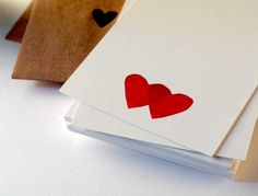 Beautiful simple cards by http://tabletopmade.com/