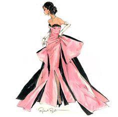 """Robert Best Barbie sketch """"Pink Ballgown"""""""