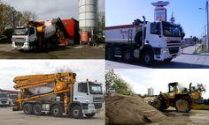 Staţia de beton Beny Trans - 7 autobetoniere stau la dispoziţia clienţilor Romania, Vest, Trucks, Truck, Track, Vest Outfits