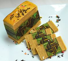 The varieties of Sarawak Layered Cakes...