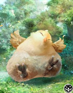 Fat Chocobo from Mobius Final Fantasy
