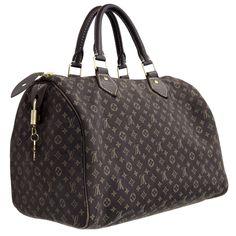 MODASELLE - Louis Vuitton Ebene Monogram Mini Lin Speedy 30 Bag, CAD $595.00 (http://www.modaselle.com/louis-vuitton-ebene-monogram-mini-lin-speedy-30-bag/)
