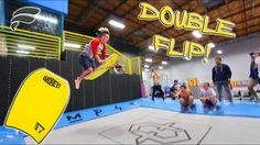 BOOGIE BOARD TRAMPOLINE TRICKS!