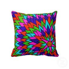Blossom and Six Pillow by Erin Jordan