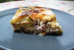 Sonkás-túrós rakott cukkini Lasagna, Keto, Ethnic Recipes, Food, Lasagne, Meals, Yemek, Eten