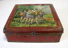 Chests & Trunks Art.130 Fantastico Contenitore In Latta Primo 900