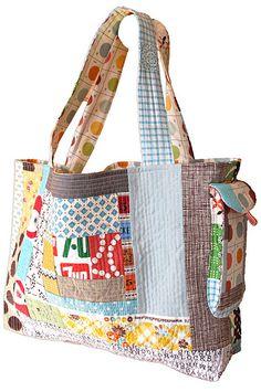 QAYG bag by sewtakeahike, via Flickr