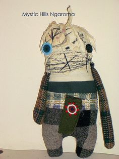 Bart the grungy monster art doll by Mystic Hills Ngaroma