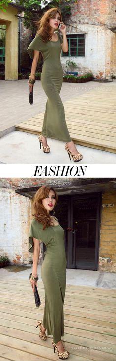 Beautiful Backless Fashion Maxi Dress-Hey now!