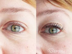 Blogger Dioriina tried our new Lumene True Mystic Volume Mascara. See the difference! #mascara #lumene