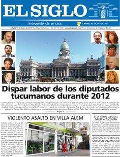 Diario El Siglo - Sábado 12 de Enero de 20 13