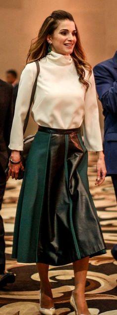Queen Rania of Jordan - 6.12.2014