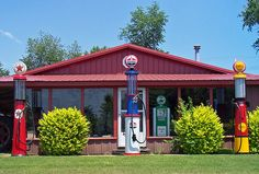 Ornamental Gas Pumps